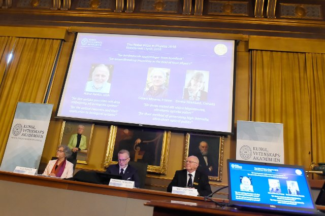 BLOG: Winners of the Nobel Prize in Physics announced