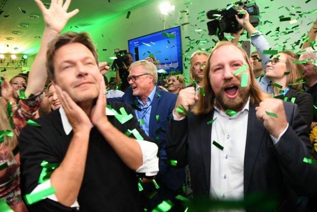 Why is the Green party suddenly flying high in Germany?