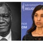 Nobel Peace Prize 2018 shared by activists fighting sexual violence in conflict zones