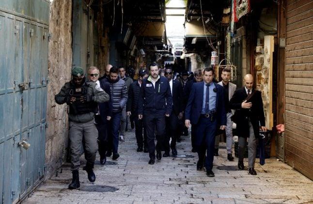 Italy's Salvini accuses EU of anti-Israel bias