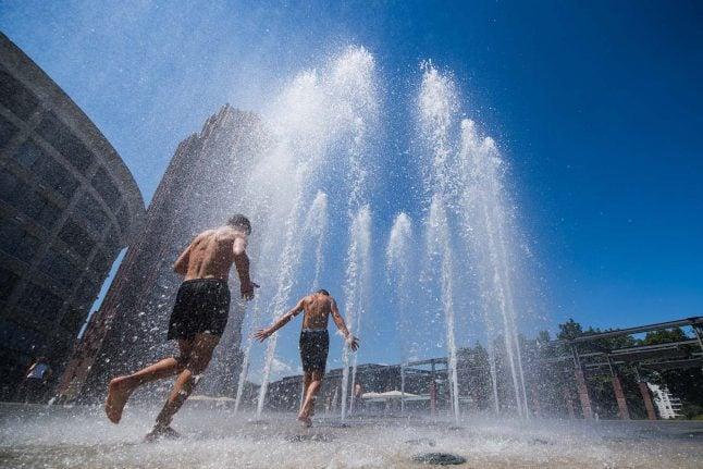 Berlin sunniest, Frankfurt warmest in Germany's hottest year on record