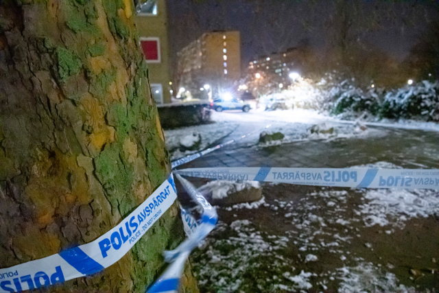 Crime in Sweden: a look at where the fatal shootings happen
