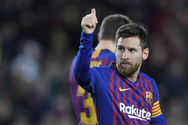 'Monstrous' Messi scores 400th La Liga goal