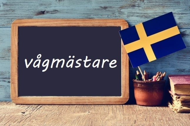 Swedish word of the day: vågmästare