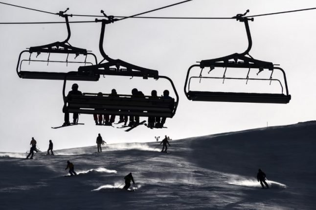 Abnormally warm weather forces Swiss ski resorts to take early avalanche action