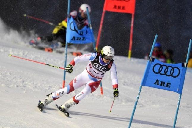Swiss win team event at World Ski Championships