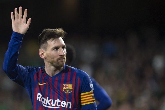 Fantastic Messi hat-trick sees Barça blow away Betis