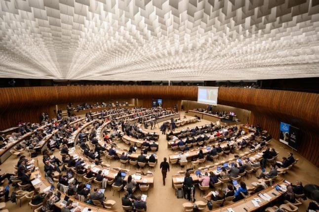 Geneva: US envoy leads protest over anti-Israeli 'bigotry' at UN council