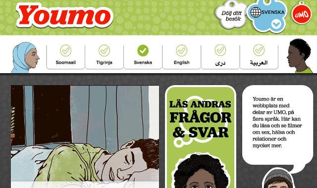 Huge international interest in Sweden's sex education website