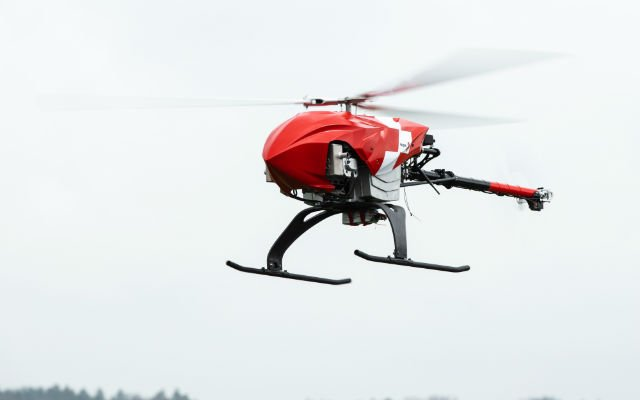 IN PICTURES: Swiss Air Rescue to use drones to search for missing and injured