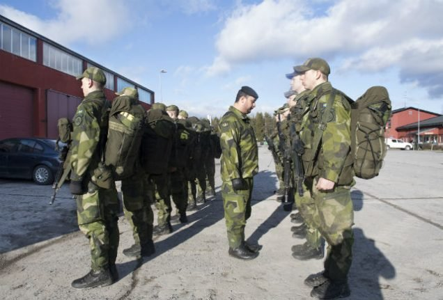 Sweden hands out first jail terms for draft evasion since return of conscription