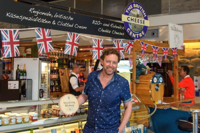 Ridiculous or genius? Meet the British man selling cheese to the Swiss