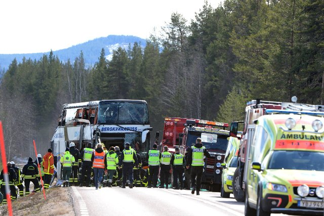 Swedish court clears driver in fatal school bus crash