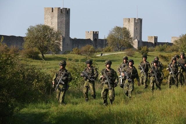 Inside Sweden's re-established military unit on Gotland