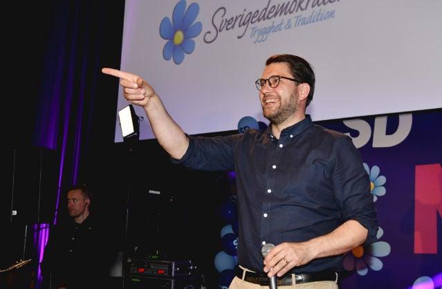 Sweden's populists brush off groping scandal to score big in EU polls