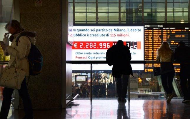 European stocks drop as trouble brews between Rome and Brussels