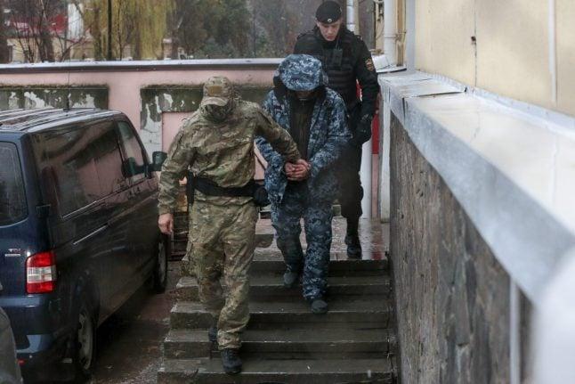 Global tribunal in Hamburg tells Moscow to free Ukrainian sailors 'immediately'