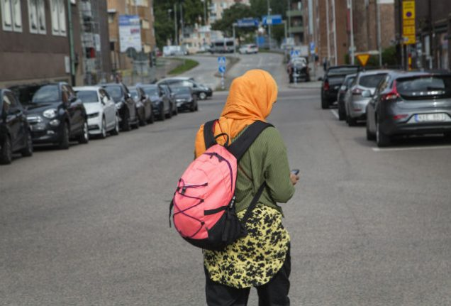 Swedish town bans Islamic headscarf in primary schools