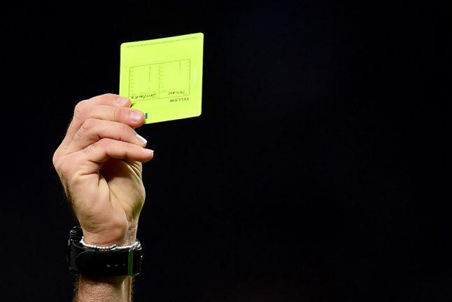 Italian teen gets football ban for flashing female ref