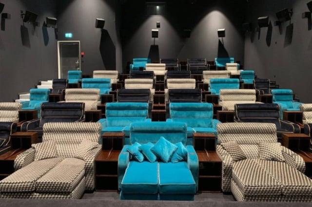 Introducing Switzerland's first 'VIP bedroom' cinema