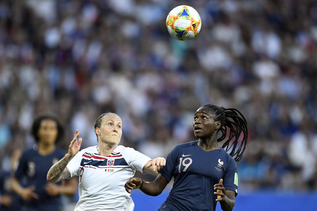Norway's football stars fall to France on penalty