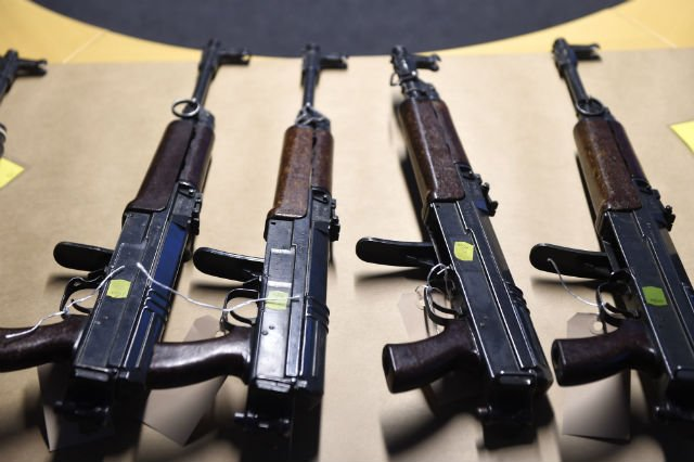 Swedish police seized record number of weapons in 2018