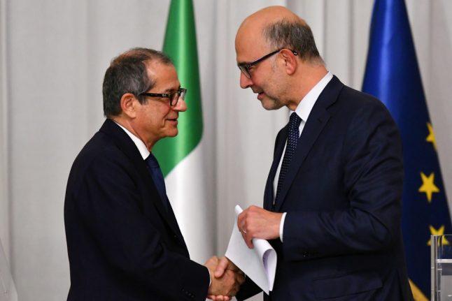 Italy escapes EU sanctions over massive public debt