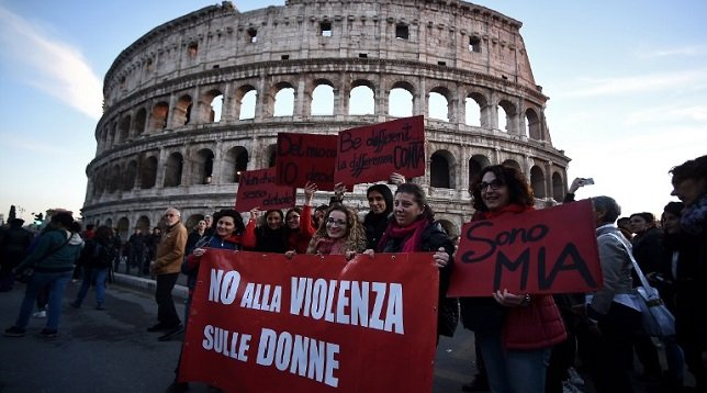 Code red: Italy passes new domestic violence law