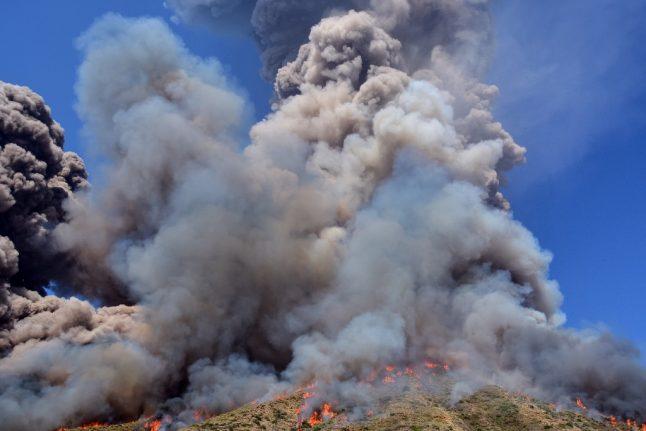 IN PHOTOS: Massive eruption on Stromboli, Italy's volcanic hotspot