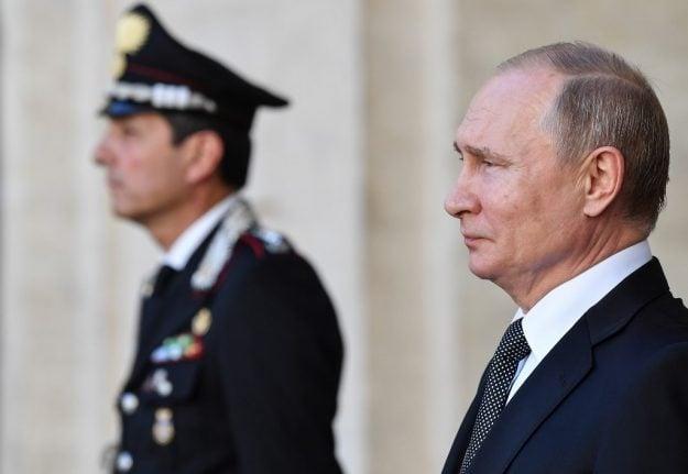 Putin praises Salvini's 'welcoming attitude' to Russia ahead of Italy visit