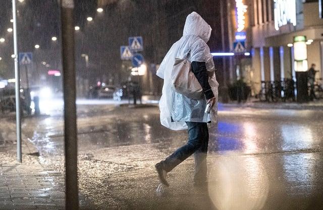 Warnings for heavy rain issued across Sweden