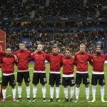 France: Wrong anthem debacle mars France-Albania clash