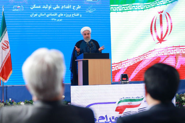Iran's Rouhani warns Macron of looming nuclear step