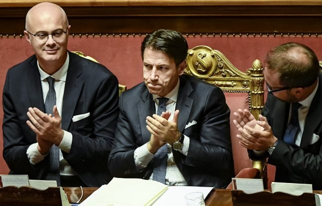 It's official: Italy's new government gets final green light from senate