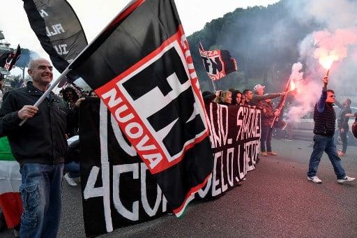 Facebook shuts down Italian neo-fascist parties' accounts