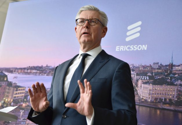 Ericsson braces for 12 billion kronor bill to settle US corruption probe