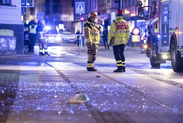Woman injured in blast in centre of Swedish city of Lund