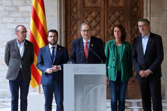 Calm returns to Barcelona on Saturday after violent protests