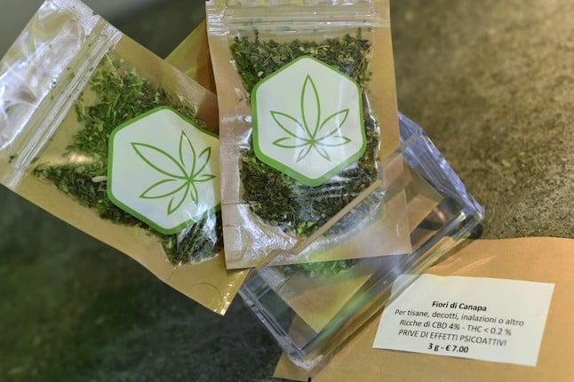Italian parliament votes to legalize 'cannabis light'