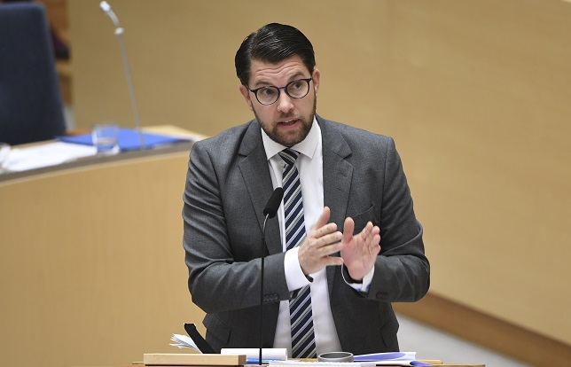 Far-right Sweden Democrats reach record high in opinion polls