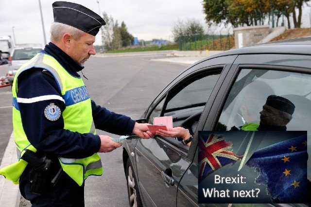What are the rules for driving in France after Brexit?
