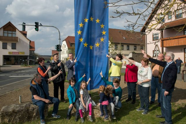 'I hope no one else leaves': Sadness and hopes at EU's post-Brexit centre in German village