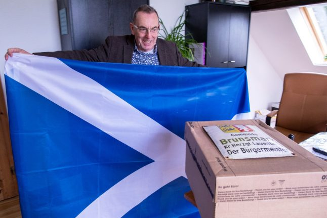 How Brexit has robbed northern German village of Scottish mayor