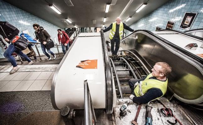 Fact check: How often do Stockholm's metro escalators actually break down?