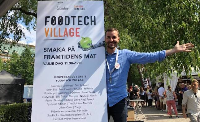 My Swedish Career: 'Food is a very strong vehicle for connecting people'