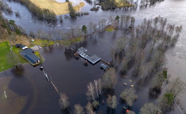 Flood warning: Swedish towns on high alert after rivers burst their banks