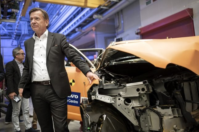 Volvo suspends car production in Europe and the US