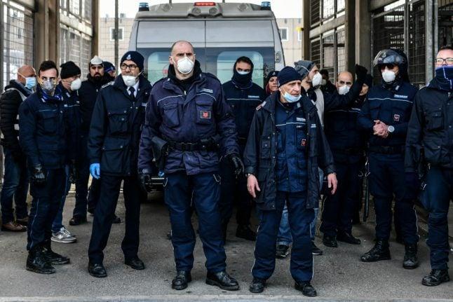 Several inmates die in prison protests over Italy's coronavirus lockdown