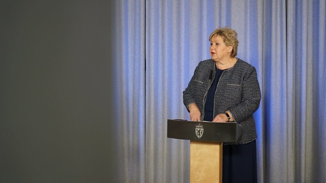Norway PM's party surges in polls on coronavirus lockdown