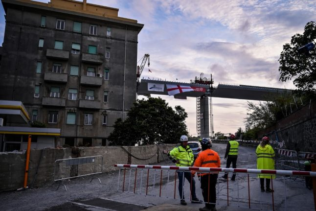 New hope for Italy as Genoa bridge nears completion